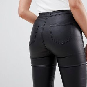 Missguided Jeans - NEW WITH TAGS- Misguided Tall Coated Skinny Jeans